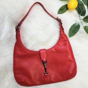 Coach Small Slim Leather Hobo Bag